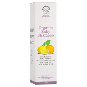 Organic Baby Shampoo angle 1