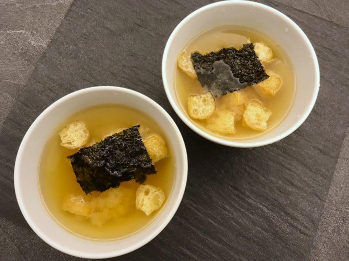 easy 3 min miso soup