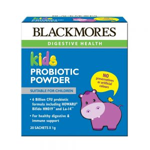 Blackmores_Kids Probiotic Powder 20s_Angle1