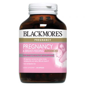 Blackmores_Pregnancy & Breast-feeding Advanced 120s_Angle1