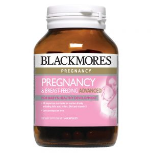 Blackmores_Pregnancy & Breast-feeding Advanced 60s_Angle1