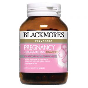 Blackmores_Pregnancy & Breast-feeding Advanced 60s_Angle1