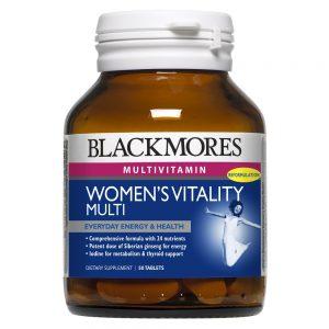 Blackmores_Women Vitality Multi 50s_Angle1