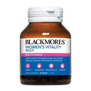 Blackmores_Women's Vitality Multi 50s_angle 1