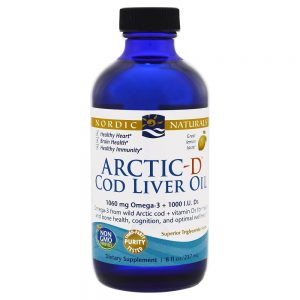 Nordic Naturals_Arctic-D Cod Liver Oil - Lemon, 237 ml.