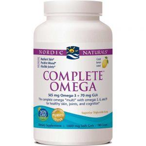 Nordic Naturals_Complete Omega 1000 mg - Lemon, 60 sgls.