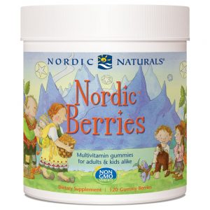 Nordic Naturals_Nordic Berries Multivitamin Gummies - Citrus, 120 berries.