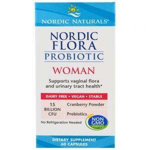 Nordic Naturals_Nordic Flora Probiotic Woman, 60 caps.