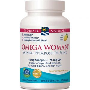 Nordic Naturals_Omega Woman 500 mg - Lemon, 120 sgls.